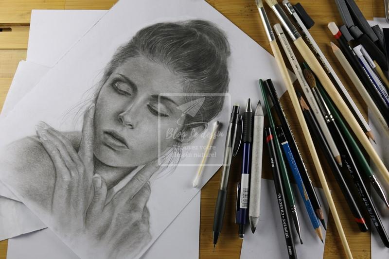 mes dessins en cours
