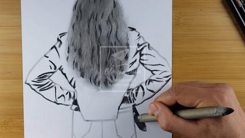 dessiner le cuir
